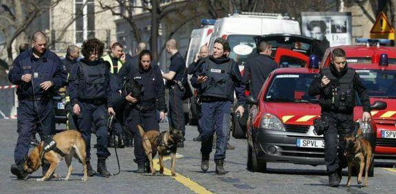 آماده باش امنیتی در پاریس