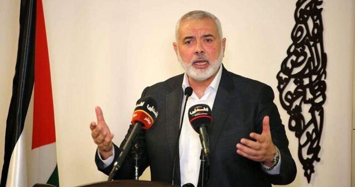 هنیه: تا توقف کامل جنایات دشمن حملات مقاومت ادامه دارد