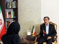 گفتگوی احمدینژاد با خبرگزاری آناتولی ترکیه +تصاویر