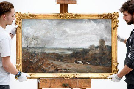 بازگشت نقاشی به سرقت رفته به موزه انگلیس +عکس
