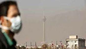 میزان ذرات معلق هوای تهران در مناطق مختلف مشخص نیست