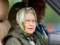انتقال ملکه انگلیس از کاخ سلطنتی