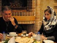 کیروش و همسرش در یک رستوران ایرانی +عکس