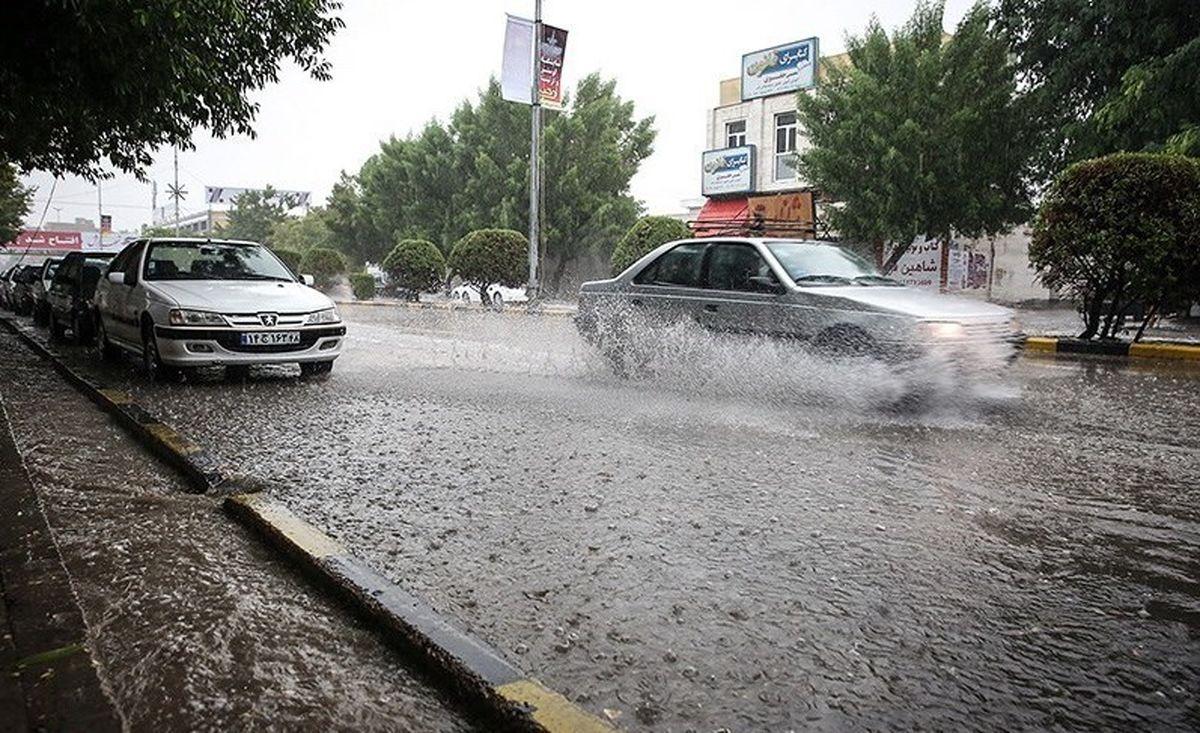 رگبار و رعد و برق در برخی استان ها از امروز
