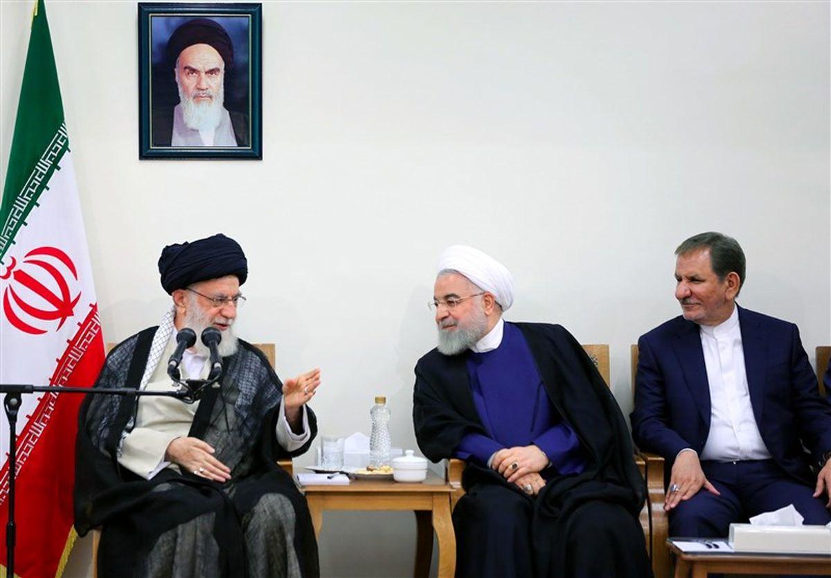 روایت جهانگیری از دیدار دولتیها با مقام معظم رهبری
