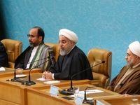 حضور روحانی در کنفرانس وحدت اسلامی +عکس
