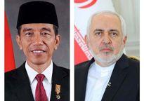 دیدار ظریف با رییسجمهوری اندونزی