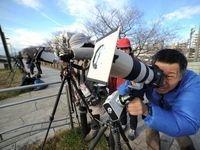 اولین خورشیدگرفتگی سال ۲۰۱۹ +تصاویر