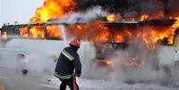 اتوبوس حامل زائران خارجی در اهواز آتش گرفت
