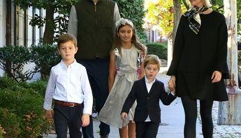 گردش خانوادگی ایوانکا ترامپ +عکس