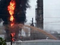 آتشسوزی گسترده در پالایشگاهی در تگزاس +فیلم