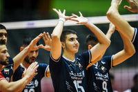 پیروزی نوجوانان تیم ملی والیبال زیر ۱۹ ایران مقابل چک