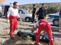 تصادف شدید پراید و کامیون جان یک نفر را گرفت