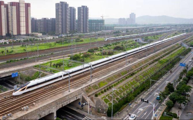 قطار گلوله ای چین