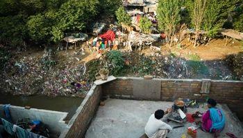 زندگی در کنار زبالهها +تصاویر