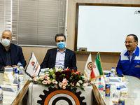 بازدید مدیرعامل بانک ملت از شرکت لوله و ماشین سازی ایران