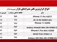گرانترین موبایلها چند؟ +جدول