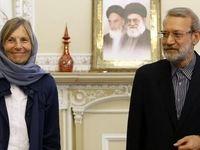 در دیدار لاریجانی با نماینده مجلس فرانسه چه گذشت؟