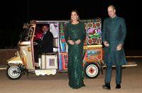 لباس سنتی شاهزاده انگلیس در بازدید از پاکستان +تصاویر