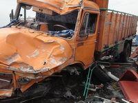 2 کشته در تصادف کامیونها در اتوبان قم