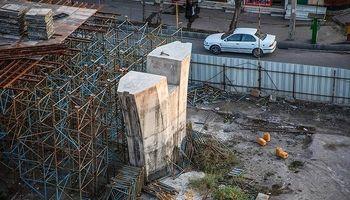 بازماندههای پلی که ساخته نشد +عکس