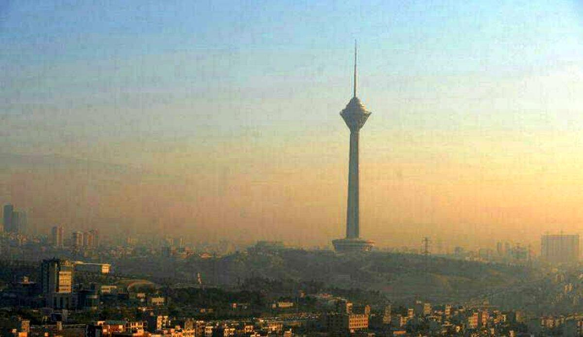خیزش گرد و خاک در پایتخت طی امروز و فردا
