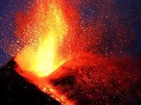 فوران دوباره آتشفشان اتنا درایتالیا +فیلم