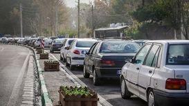 ترافیک بیسابقه تا ۷۰کیلومتری مرز مهران +فیلم