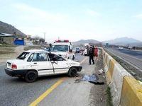 وقوع ۳ حادثه رانندگی در محور دماوند-فیروزکوه
