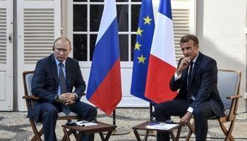 ماکرون برای بازگشت روسیه به «جی 7» شرط گذاشت