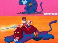 تفاوت بارسلونا با مسی و بدون مسی