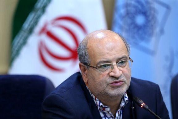 زالی: الگوی مبارزه با کرونا در تهران باید متفاوت باشد