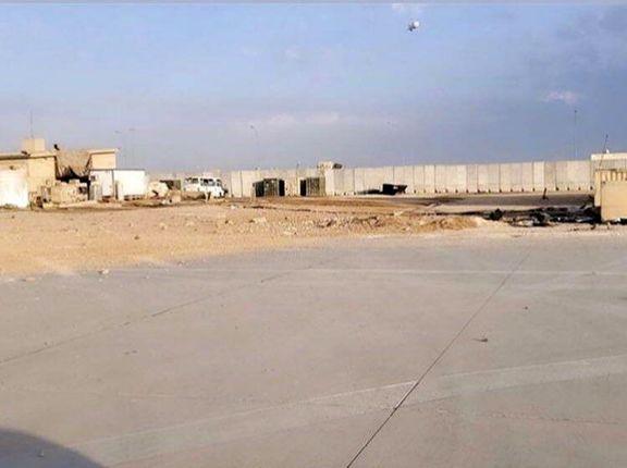 عکس جدید از خسارت حمله موشکی به عین الاسد