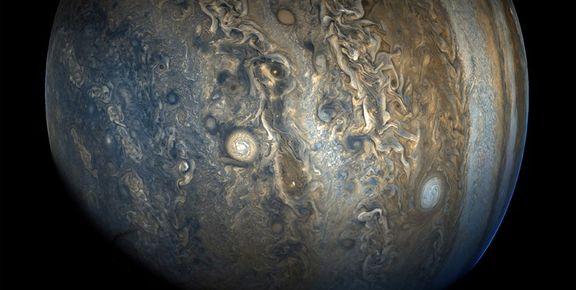 تصویر روز ناسا از ناشناختههای مشتری