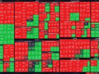 نمای بازار سهام در پایان معاملات