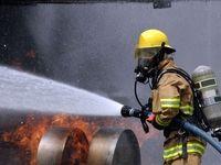 آتش گرفتن چند دستگاه خودرو در خیابان خاوران