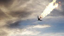 تصاویر ارسالی شاهدان عینی از لحظات ابتدایی سقوط هواپیما +فیلم