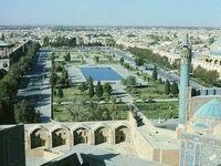 رقص زوج گردشگر در اصفهان +فیلم