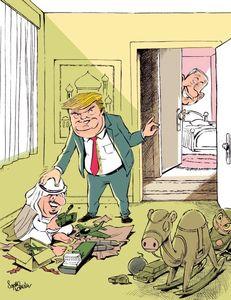 پشت پرده سفر ترامپ به عربستان!