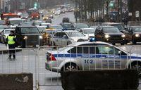 برخورد خودرو با عابران پیاده در مسکو