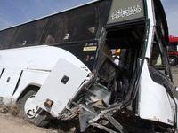41نفر کشته و زخمی در حادثه واژگونی اتوبوس