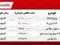 ثبت نام ایران خودرو (فروش فوق العاده ۵ محصول)