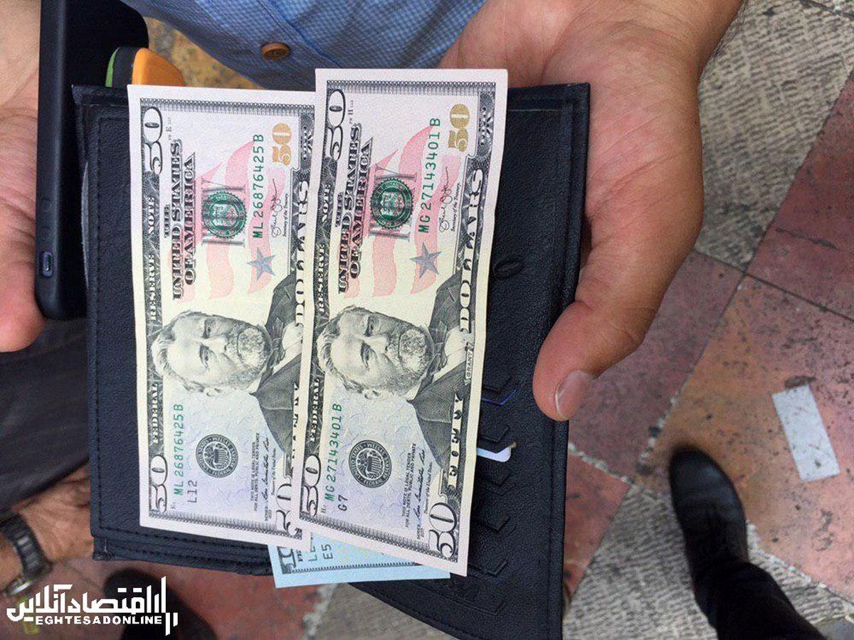 ادامه ریزش نرخ ارز در دو روز متوالی/ دلار ۳۰۰تومان ارزان شد