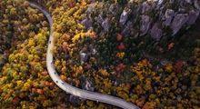 زیباترین بزرگراه جهان کجاست؟ +تصاویر