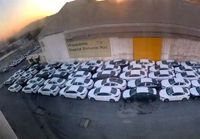 آخرین وضعیت خودروهای ترخیص شده و موجود گمرکات کشور