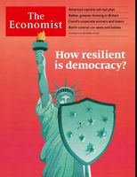 تابآوری دموکراسی چه میزان است؟