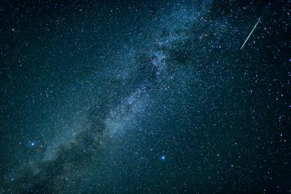 تصاویری دیدنی از حضور شهابسنگ ها در آسمان