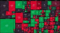 نقشه بورس امروز بر اساس ارزش معاملات/ شاخص همانند روز گذشته دقایق ابتدایی را صعودی ادامه میدهد