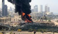 آتشسوزی بندر بیروت مهار شد