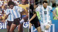 مقایسه مارادونا و مسی در جامهای جهانی